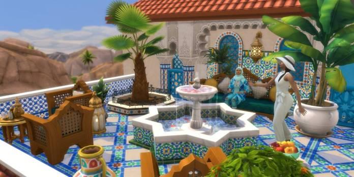 The Sims 4, Oasis en el Patio