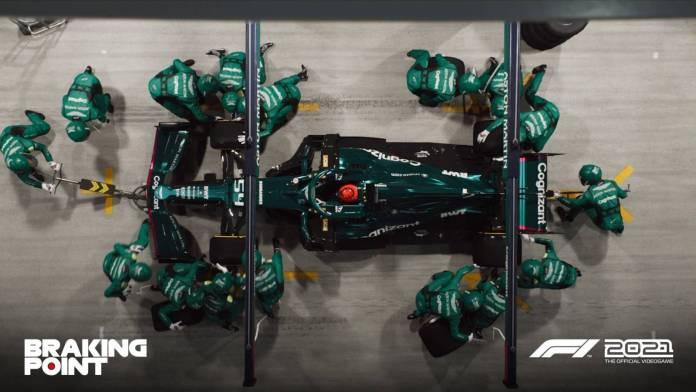 F1 2021 muestra los primeros detalles de Breaking Point 6