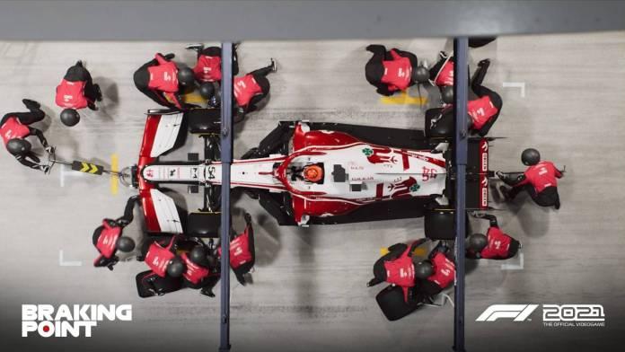 F1 2021 muestra los primeros detalles de Breaking Point 7