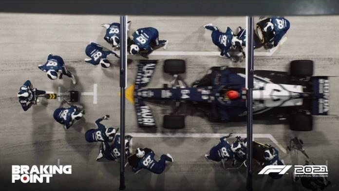 F1 2021 muestra los primeros detalles de Breaking Point 11