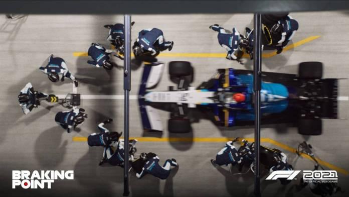 F1 2021 muestra los primeros detalles de Breaking Point 14