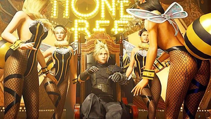 Final Fantasy VII Remake incluía una escena de Pole Dance que fue eliminada 2