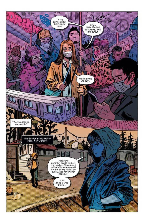 M.O.M.: Mother of Madness, conoce los detalles del cómic debut de Emilia Clarke 3