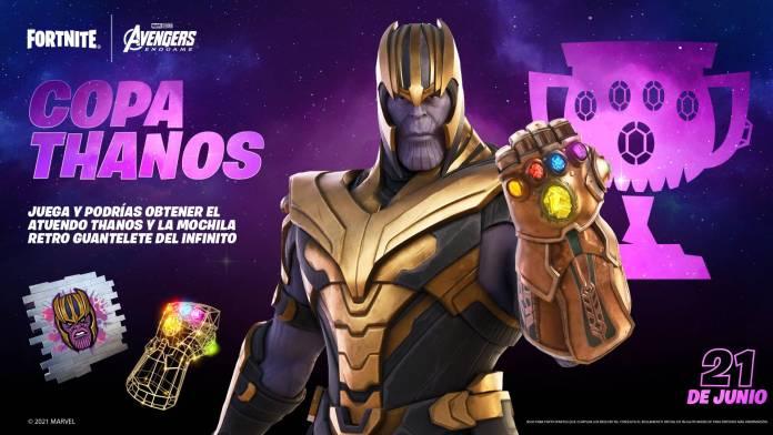 Thanos skin Fortnite