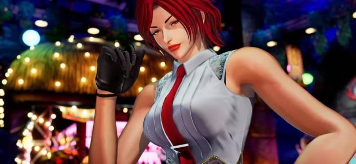 Vanessa estará también en The King of Fighters XV 11