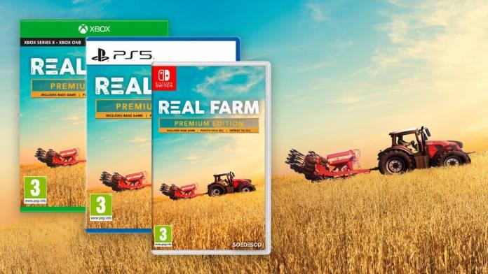 Real Farm - Premium Edition llega a PlayStation 5, Xbox Series S/X y Nintendo Switch Con mejoras graficas para la Next-Gen
