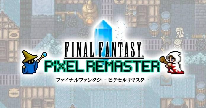 Final Fantasy Pixel Remaster I, II y III Ya tienen fecha de lanzamiento, además de mejoras en gráficos y audio.