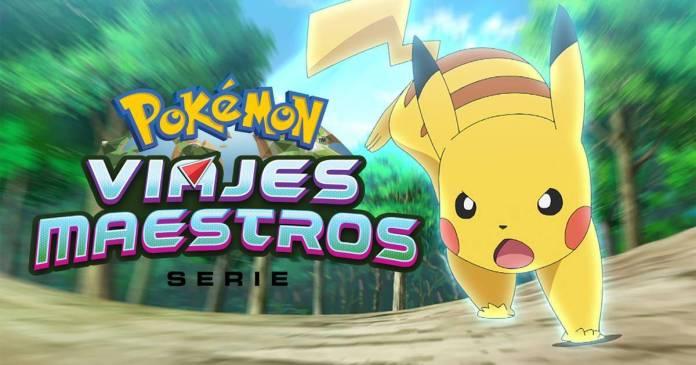 La temporada 24 llamada Pokémon Viajes Maestros ya se encuentra disponible en Netflix con los primeros 48 episodios.
