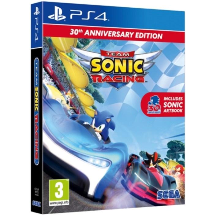 La nueva Edición Especial de Sonic Team Racing ha sido filtrada 1