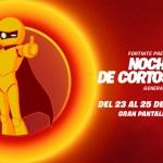Fortnite Noche de Cortos
