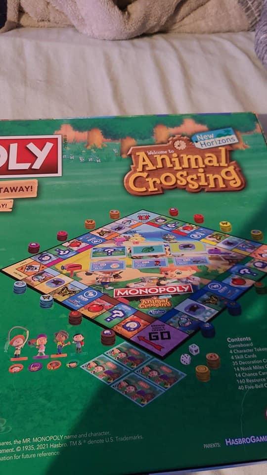 Animal Crossing llegará Monopoly, conoce todos los detalles 2