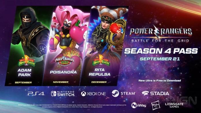 Trailer y Fecha para la temporada 4 de Power Rangers: Battle for the Grid. 8