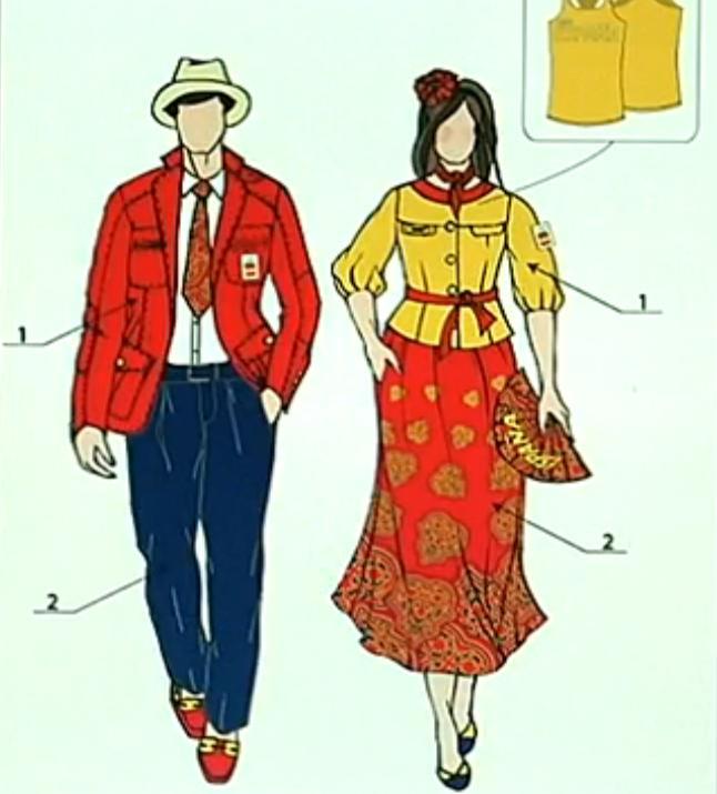 Olimpismo: Los nuevos bocetos de los uniformes olímpicos para Londres 2012