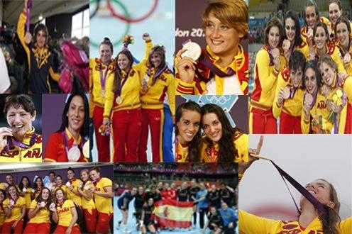 Las medallistas españolas en los juegos Olimpicos Londres 2012 - Nosotras Deportistas