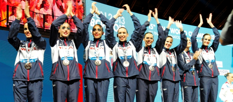 BCN 2013: Las medallistas en el Mundial de Natación de Barcelona