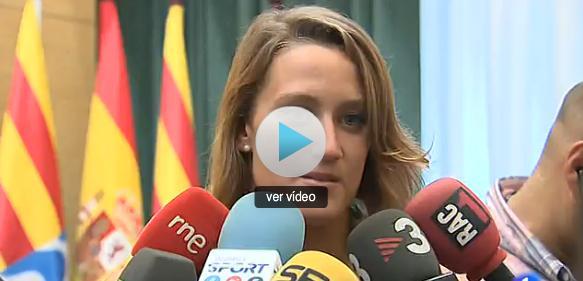 Mireia Belmonte homenajeada en su ciudad