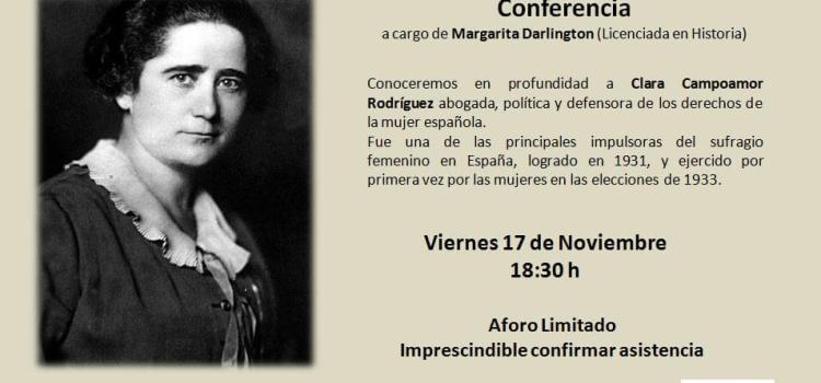 Conociendo a Clara Campoamor