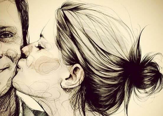 femme-embrassant-un-homme