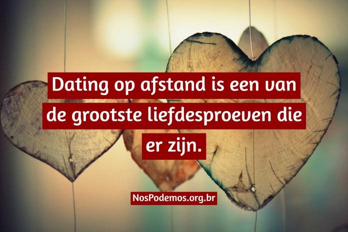 Dating op afstand is een van de grootste liefdesproeven die er zijn.
