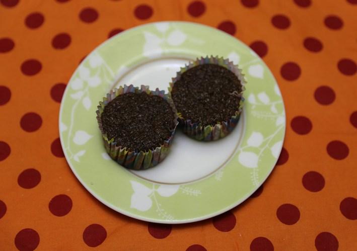 Bolinho Cupcake Bolo de cacau sem trigo sem leite