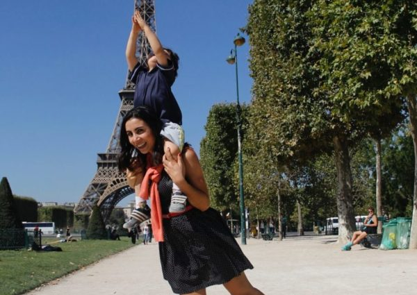 Paris com criança Provence com criança França