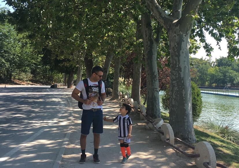 Viagem com criança brincadeiras fáceis jogos infantis caminhada kids