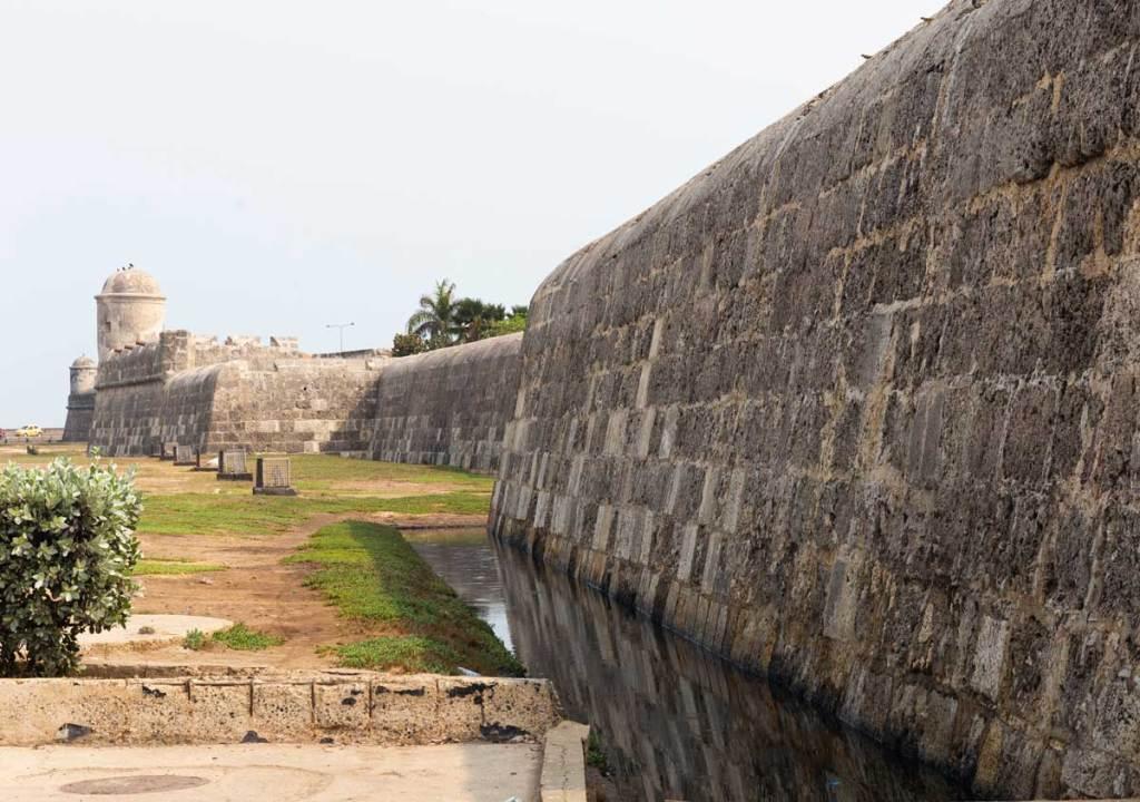 O que fazer em Cartagena Colombia muralha