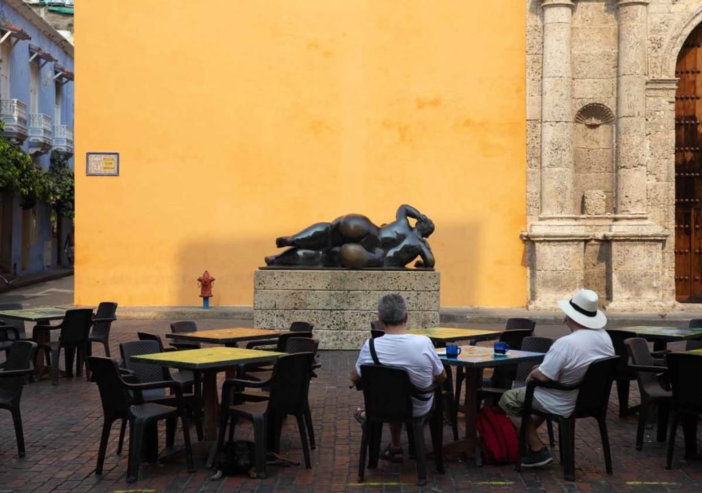 o que fazer em Cartagena Colombia Gertrudis Mulher Recostada Botero