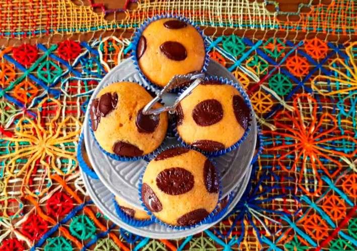 muffin de cenoura bolo de cenoura fofinho