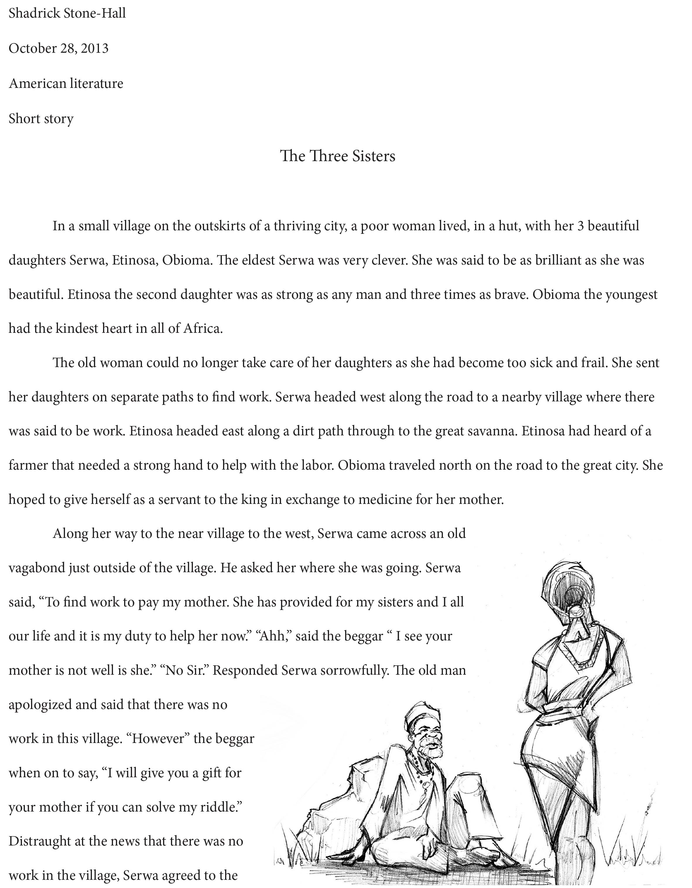 Creative Students Write Too Short Story And Illustrations