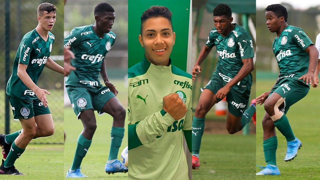 Palmeiras Tem Cinco Jogadores Convocados Para Selecao Brasileira Sub 15 Nosso Palestra