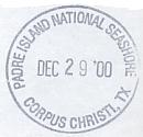 2000 National Parks Passport Cancellation Stamps
