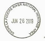 Colorado's National Parks Passport Cancellation Stamps