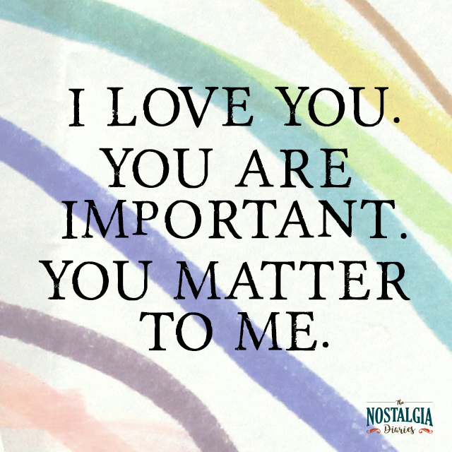 You Are Loved You Are Important And You Matter Pictures: How To Spread Love: The Power Of Rituals