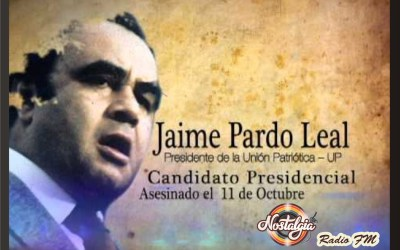 31 AÑOS DEL ASESINATO DE PARDO LEAL