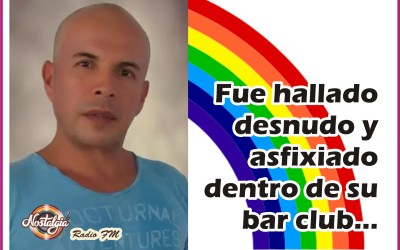 EN BARRAQUILLA…DESNUDO Y ASFIXIADO ENCUENTRAN A DUEÑO DE UN BAR GAY