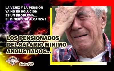 EN COLOMBIA…LOS PENSIONADOS DEL SALARIO MÍNIMO ANGUSTIADOS,ESTE NO LES ALCANZA PARA CUBRIR GASTOS
