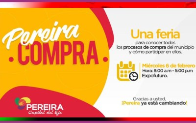 PEREIRA COMPRA…LA PRIMERA DE FERIA DE COMPRAS DE LA  CAPITAL DEL EJE