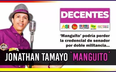 """""""MANGUITO"""" PODRÍA PERDER LA CREDENCIAL DE SENADOR!"""