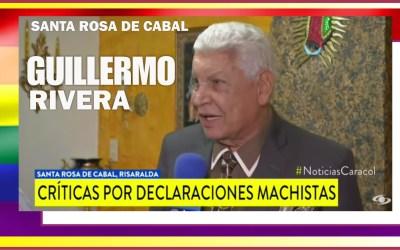 «NO HAN SIDO CAPAZ UN HOMBRE DE MANEJAR A SANTA ROSA, MUCHO MENOS UNA MUJER»: GUILLERMO RIVERA DIRIGENTE CONSERVADOR