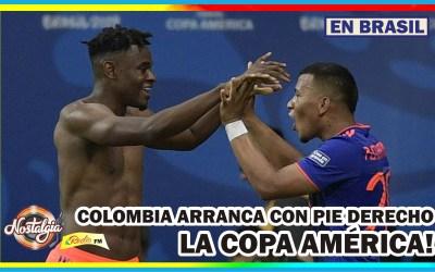 COLOMBIA DERROTA A ARGENTINA EN SU DEBUT COPA AMÉRICA 2019