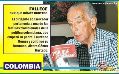 FALLECE ENRIQUE GÒMEZ HURTADO…DIRIGENTE CONSERVADOR