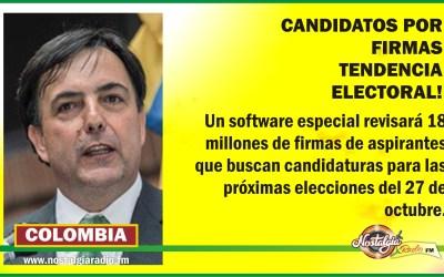 ELECCIONES 2019, LAS FIRMAS SONTENDENCIA…120 MIL SERÁN LOS CANDIDATOS PARA ESTAS ELECCIONES