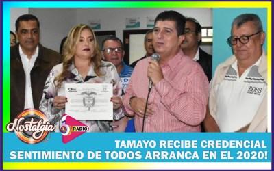 EN RISARALDA…TAMAYO RECIBE CREDENCIAL DE GOBERNADOR