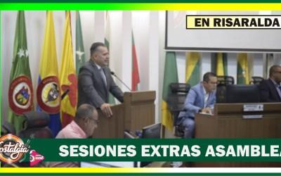 ÙLTIMAS SESIONES EXTRAS 2019…ASAMBLEA DE RISARALDA