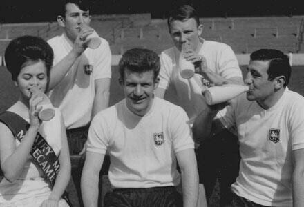 Footballers & Milk (2/6)