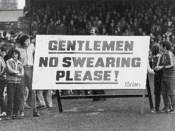 No Swearing Please