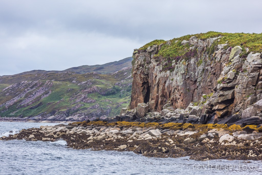 Inner Hebrides cliffface