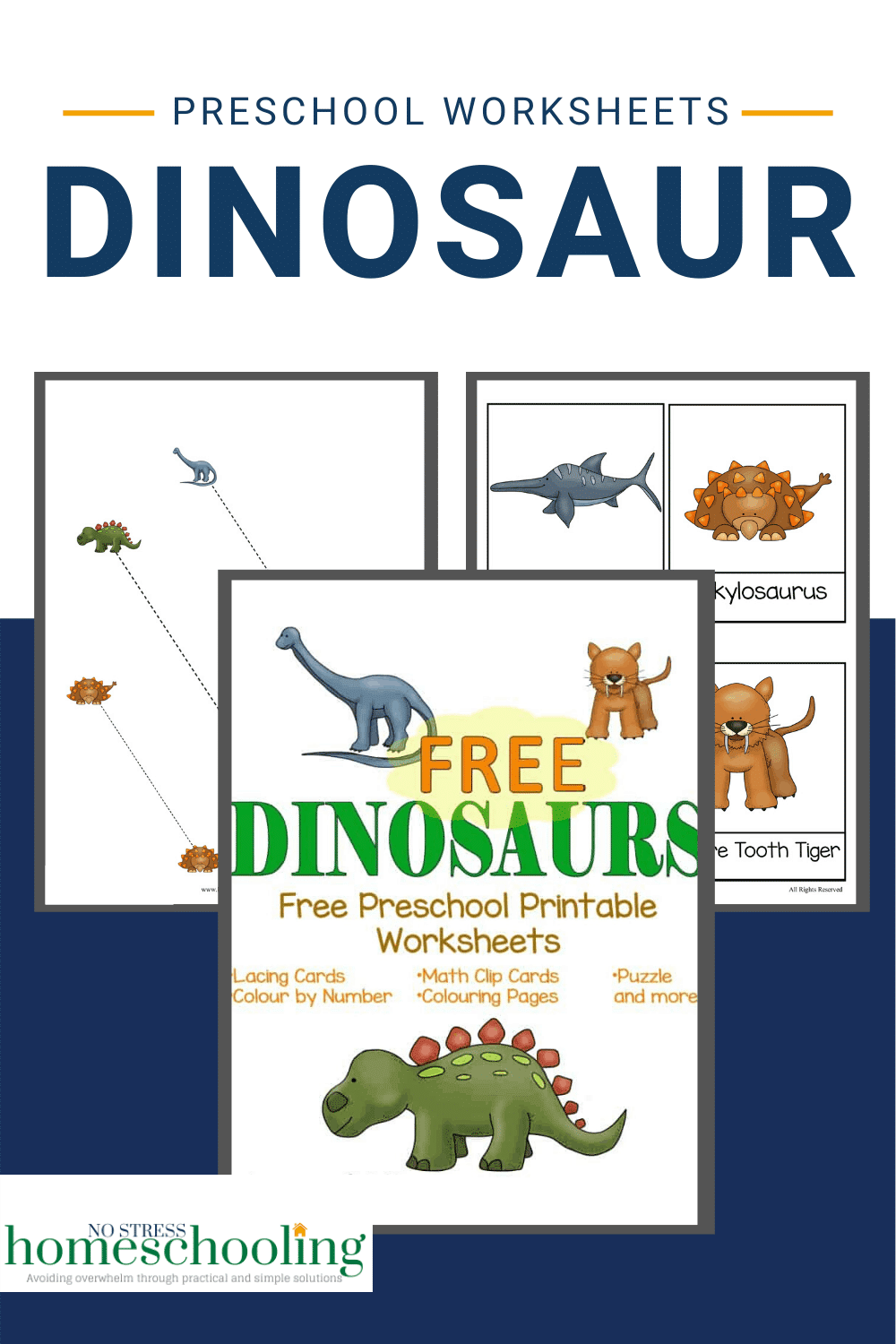 hight resolution of Adorable Dinosaur Preschool Worksheets For Your Kids To Use