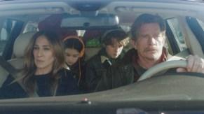 Sarah Jessica Parker y Thomas Haden Church en DIVORCE (HBO).